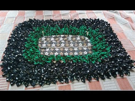 Make A Doormat by How To Make A Beautiful Doormat From Waste Cloths Like