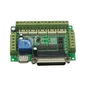 Upgraded Axis Cnc Breakout Interface Board For Stepper