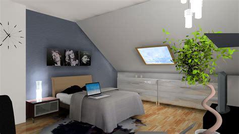 chambre sous comble 3d chambre sous comble