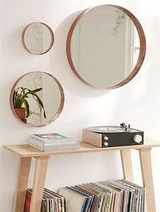 Ikea Miroir Rond : adoptez un grand miroir rond joli place ~ Teatrodelosmanantiales.com Idées de Décoration