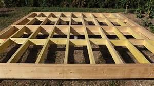 Forum www bois com : Plancher abri de jardin sur parpaing