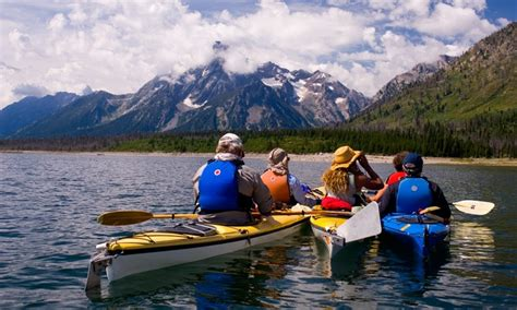 Boat Rental Jackson Lake by Grand Teton National Park Kayak Canoe Sup Rentals
