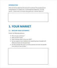 free basic resume outline marketing action plan template 9 download documents in pdf
