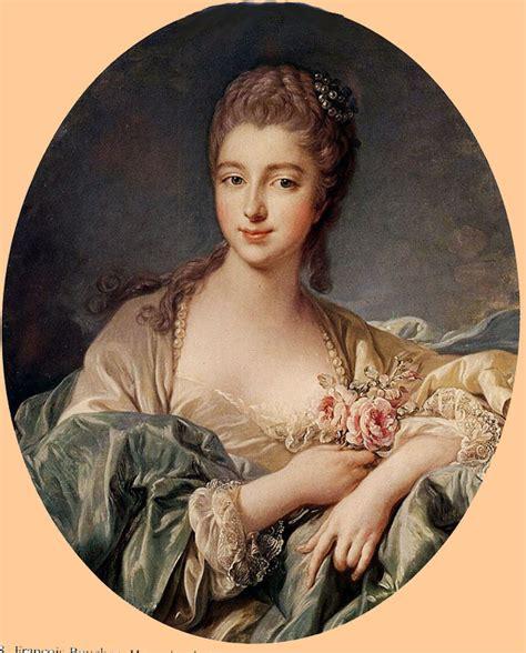 1749 1750 marquise de pompadour by francois boucher