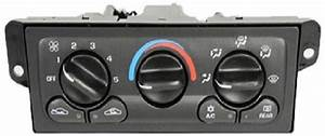 Heating And Air Conditioning Control Panel