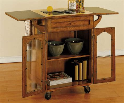 jaw dropping easiness kitchen island  wheels