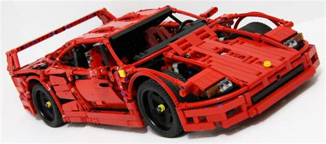 Cool Lego Cars by This Lego F40 Is The Coolest Lego Creations