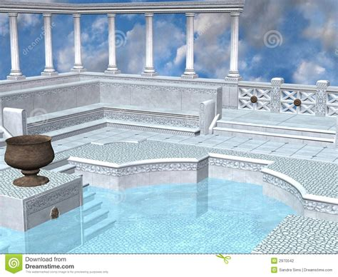 Baño Griego Fotografía De Archivo  Imagen 2970542