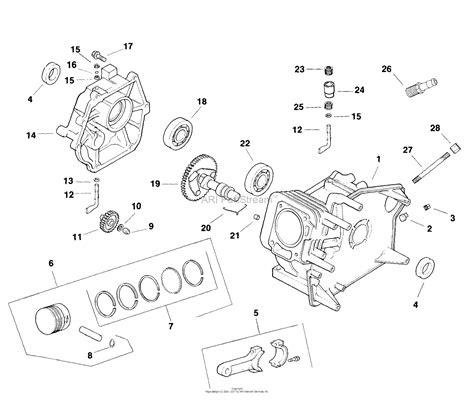 17 Hp Kohler Engine Diagram by Kohler Ch5 1513 E L Smit 5 Hp Parts Diagram For Crankcase
