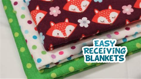 Receiving Blanket How To {very Easy}