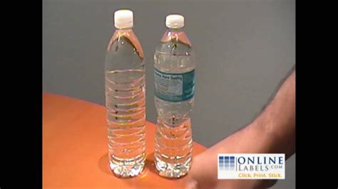 create   personalized water bottle labels diy
