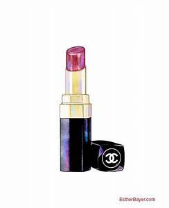 Tumblr Lipstick Drawing
