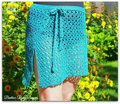 Crochet Pattern Wrap Bathing Suit Patterns Amazing