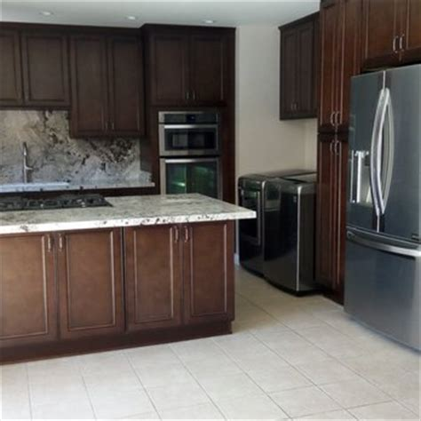 how to tile a backsplash in the kitchen west coast granite marble fabrication 75 photos 52 9837