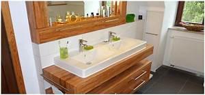 Badezimmermöbel Aus Holz : badezimmerm bel holz natur ~ Pilothousefishingboats.com Haus und Dekorationen