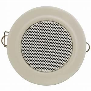 White Down Light Style Ceiling Speaker