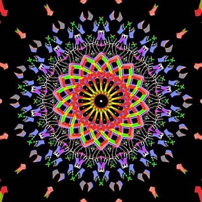 Mandala Colorful Mandalas Hexeosis Girf Thanksgiving Gifs