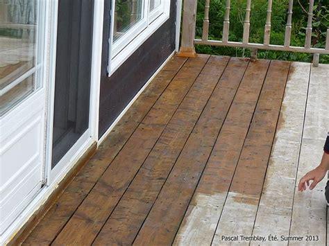 teindre patio bois traite peindre ou teindre une terrasse entretenir une terrasse en bois