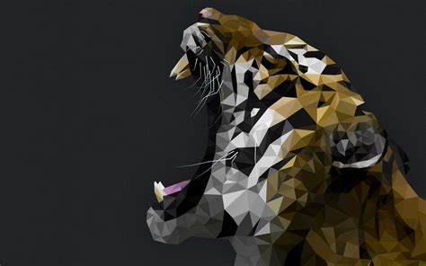 Low Poly Animal Wallpaper - wallpaper 1920x1200 px animals artwork digital