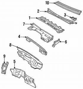 Cowl 1997 Chevrolet Suburban C1500 Oem  U2013 New Gm Parts