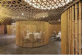 Art Wall Decor Bamboo Interior Design Concept Interior Design TV Wall Green Bamboo And Gray Brick Bamboo Interior Design For The Home Pinterest Bamboo Roman Shades In The Interior Design