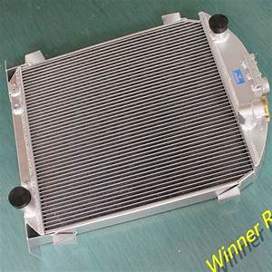 Aluminum Alloy Radiator For Ford Model A W  Chevy 350 V8