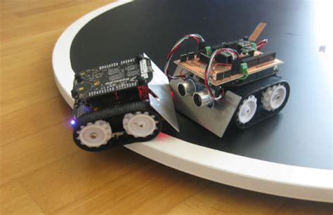 Mini Sumo Robot Competition running with FRDM-KL25Z | MCU ...