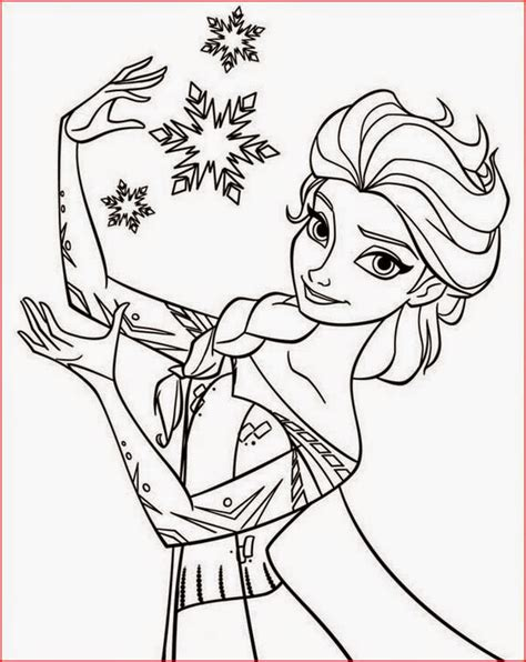 coloring pages elsa  frozen  printable coloring pages