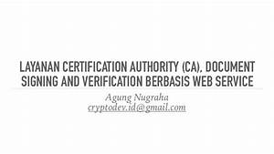 agung nugraha layanan ca document signing and With document signing service