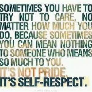 Information About Self Respect Quotes For Girls Yousenseinfo