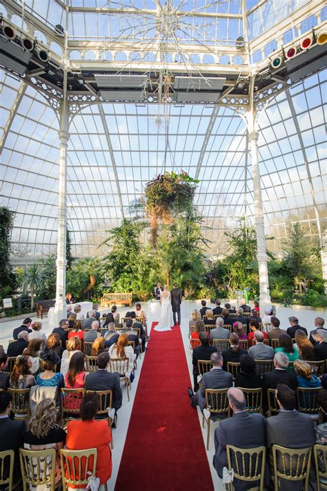 sefton park palm house wedding  easter saturday