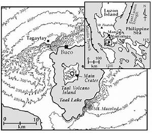 Location Maps Of Taal Volcano