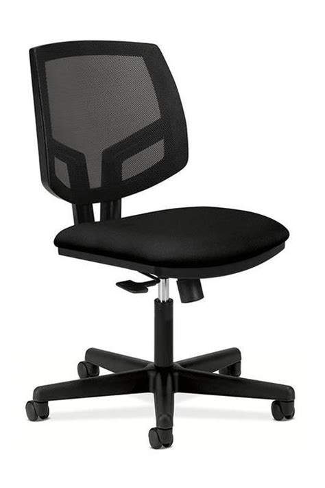 hon volt seating mesh mid back task chair black by office