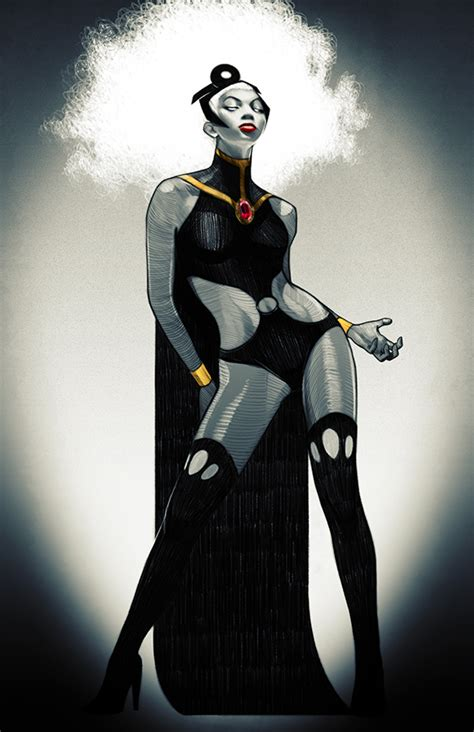storm comic con gender marvel wolverine comics justice stacey swapped league lee afro wired actual ny underwire characters character drawing