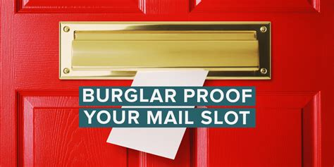 door mail slot 12 ways to keep burglars out of your mail slot home 3429