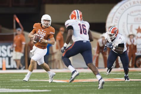 2020 Texas Longhorns football kickoff times and TV schedule