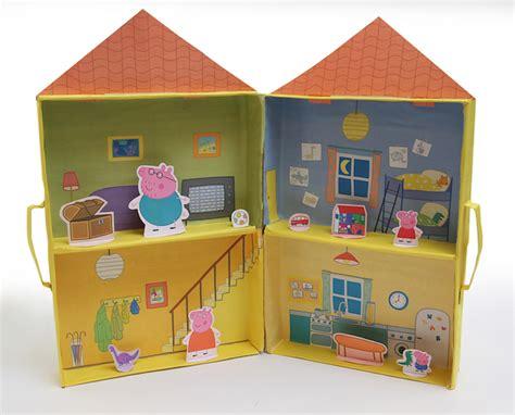 casa pepa pig recortar y pegar casa de peppa pig para imprimir y montar