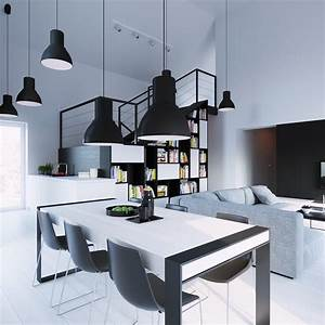 Dining rooms that mix classic and ultra modern decor for Modern white dining rooms