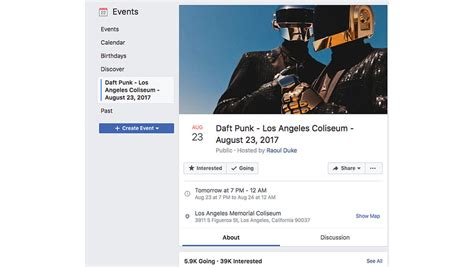 Sorry, There Is No Daft Punk Concert at the L.A. Coliseum ...