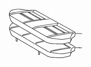 Toyota Tercel Cover  Rear Seat Cushion  For Bench Type