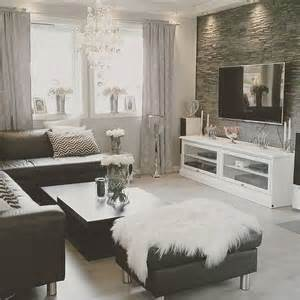 Black And Living Room Decorations by Home Decor Inspiration Sur Instagram Black And White