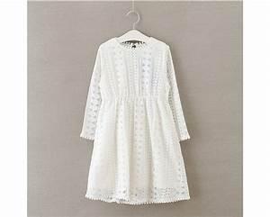 Robe Boheme Fille : robe dentelle pompons manches volantees 100 boho boheme chic ~ Melissatoandfro.com Idées de Décoration