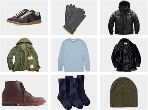 Men Winter Fashion Essentials The Ultimate Style