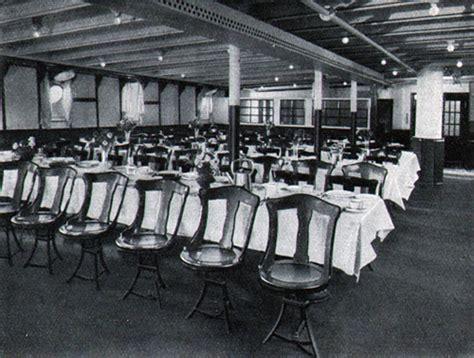 titanic 3rd class dining room 20843