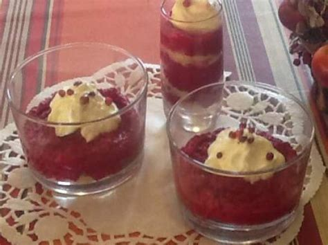 verrine betterave rouge espuma chevre miel par ladydith