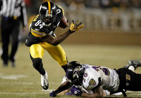 rookie receiver antonio brown making key plays