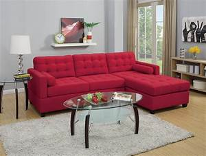 new sectional poundex fabric carmine sofa hot sectionals With sectional sofa reversible chaise living room furniture
