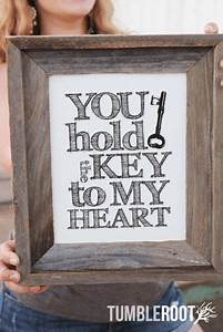 Key To My Heart : you hold the key to my heart print tumbleroot ~ Buech-reservation.com Haus und Dekorationen