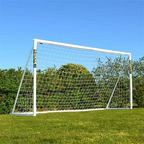 backyard soccer goals 12 x 6 forza soccer goal post soccer goals net world