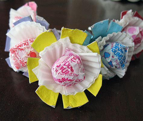 valentine egg carton lollipop flowers fun family crafts